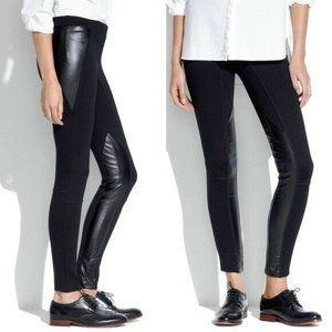 Madewell-Faux Leather Legging Pants